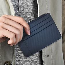 Portefeuille en Cuir Homme avec Pince à Billets,RFID Blocage Porte Carte Cadeau