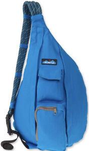KAVU Original Rope Sling Bag Polyester Crossbody Backpack Blue