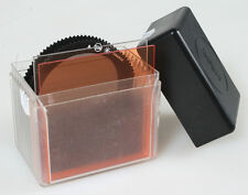 COKIN FILTERS CANISTER WITH 4 FILTERS BLUE/ORANGE/POLARIZER/STAR