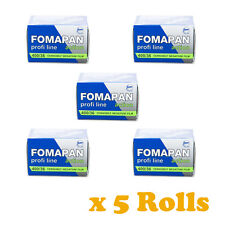5 Rolls x FOMAPAN 400 Profi Line Action Black & White Film 35mm 36exp by FOMA