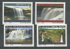 Ethiopia Complete Set of 4 MNH 2016 Water Falls