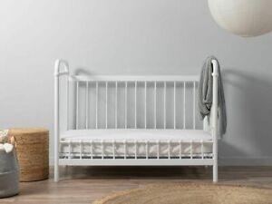 Mocka Sonata Cot Toddler Bed Conversion - White Cots