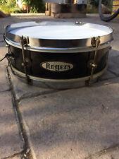 Rogers Classmate Snare Drum; 4x13; 1959(?); Black Lacquer