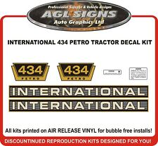 INTERNATIONAL 434 PETRO TRACTOR DECAL SET, reprocduction