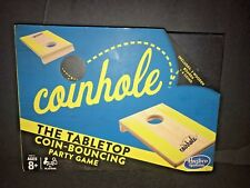 Coinhole Game-The Tabletop Coin-Bouncing Party Game-New-Free Shipping-Hasbro