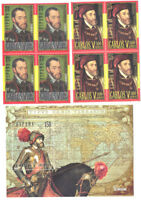 2000 HB 500 AÑOS NACIMIENTO CARLOS V EDIFIL 3697/99 ** MNH CABALLO HORSE TC12416