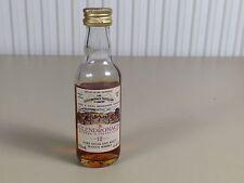 Mignonnette mini bottle non ouverte , whiskey whisky glendronach 12 ans d'age