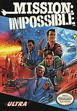 MISSION IMPOSSIBLE --- NES Nintendo Clean / Nice label /good for collection