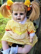 Ghostly Bumblebee toddler Doll ooak reborn repaint custom doll baby 23 inch