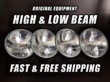 OE Front Halogen Headlight Bulb for GMC C25/C2500 Pickup 1967-1972 High & Low x4