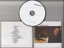 CRAIG ARMSTRONG S/T 2010 UK promo only 26-track publishing CD David McAlmont