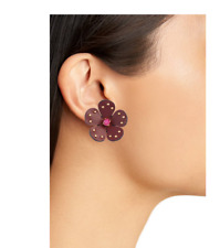 KATE SPADE NEW YORK Blooming Bling Leather Studs  Russet Mult