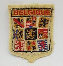 belgique belgium old vintage Cloth Patch Badge *