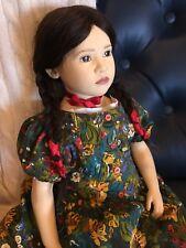 """Esche Sigikid 24"""" artist doll Winona II excellent condition Native American girl"""