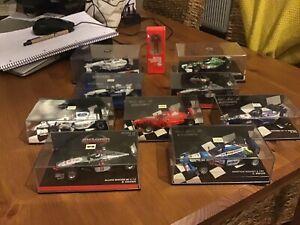 MINICHAMPS F1 1:43 - BUNDLE JOBLOT x10 MODELS Formula one collection