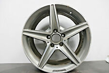 "1 x Genuine Original Mercedes C Class 18"" AMG alloy wheel W205 S205 *REAR 8.5J*"