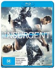 The Divergent Series - Insurgent (Blu-ray, 2015) NEW