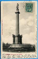 CPA Canada: Quebec - Monument des Braves / 1904
