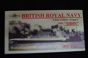 HP Models  Brit. U-Boot der O-Klasse 2.Gruppe HMS Odin -1929/40- 1:700 Resin