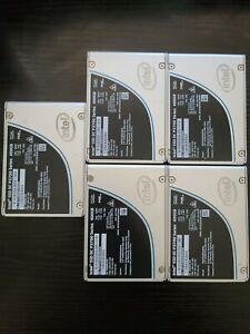 """5 Intel 400GB SSD DC P3700 SSDPE2MD400G4P 2.5"""" U.2 NVME Solid State Drive"""