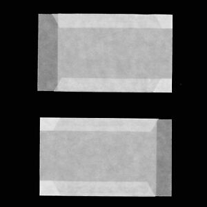 Glassine Envelopes Softener Chlorine & Acid Free Pack/100 63X93mm Side Open #703
