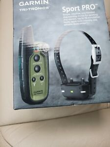 New Garmin Sport PRO Remote Dog Training Collar 3/4 Mile