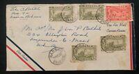 1949 Bahamas Nassau Airmail Cover To The USA