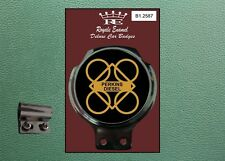 ROYALE CLASSIC AUTO SCOOTER BADGE & DESMO BAR Clip Perkins MOTORI DIESEL B1.2587