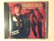 SIMPLY RED One night in London cd ITALY UNIQUE BILL WHITERS COME NUOVO LIKE NEW!