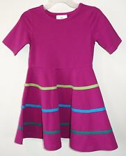 New W/Tags Hanna Andersson Novelty Skater Dress Girl's 90, 2-3.5 year