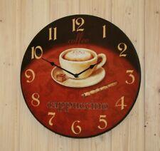 "Wall Clock "" Cappuccino "" 34,0 cm"