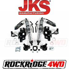 "JKS Jeep Wrangler JK 07-11 Front FOX Coilovers w DSC & Bracket Kit for 3.5"" Lift"