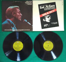 "LP 33 Giri 12"" Rod McKuen At Carnegie Hall USA 1969 POP BALLAD FOLK no cd"