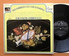 Franco Corelli Melodies Et Chansons EMI Spanish Vinyl EMI J 053 02 027 NM/VG