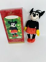 2001 Hallmark Keepsake Christmas Ornament Mickeys Sweetheart Minnie Mouse Disney