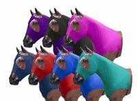 Showman Braid Keeper Form Fitting Horse Hood