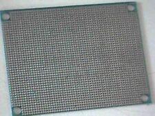 Experimentierplatine RM 1,27mm Lochraster Punktraster durchkontaktiert 60x80mm