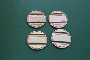 4 x 20p Brass Tokens Gaming Coin Deith Leisure Token
