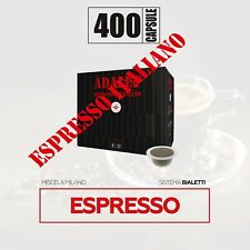 400 capsule compatibili bialetti* caffè milano mokona cuore gratis
