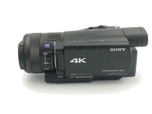 Sony FDR-AX100E Camcorder 4K Ultra HD schwarz AX100 E