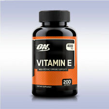 Optimum Nutrition | Vitamin E 400 IU - High Potency Immune Support | 200 softgel