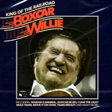 BOXCAR WILLIE * 21 Greatest Hits * NEW Sealed CD *All Original Train Songs