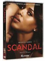 Scandal - Serie Tv - 5^ Stagione - Cofanetto Con 6 Dvd - Nuovo Sigillato