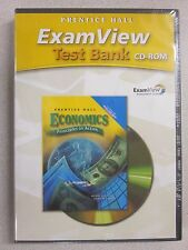 %Prentice Hall Economics Principles in Action ExamView Test Bank CD 0131335073