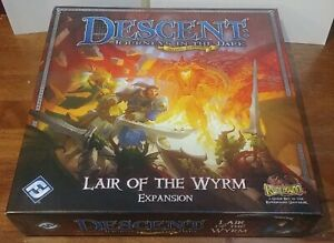 Lair of the Wyrm expansion - DESCENT Journeys In The Dark Second Edition unused