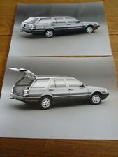 LANCIA THEMA STATION WAGON ORIGINAL PRESS PHOTOS X 2