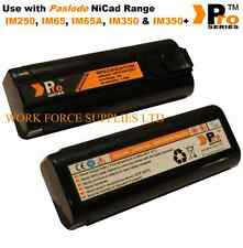 2 x batteries for IM250 Paslode Cordless nailer - 6v Nicad   -  A19