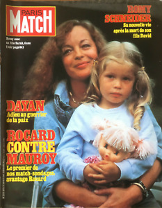 Paris Match n° 1692 du 30 octobre 1981 - Romy Schneider & sa fille Sarah Biasini