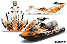 AMR Racing Jet Ski Graphics Wrap Sea Doo RXT Decal Kit 2005-2009 CARBON X ORANGE