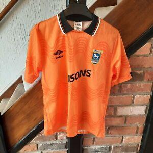 Ipswich Town Football Shirt - 3rd AWAY - 1989 - 1992 - Rare & Vintage Shirt  XL